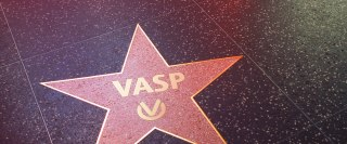 Hollywood star on side Walk of Stars